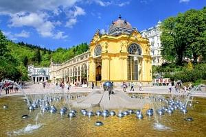Mariánské Lázně: Hotel Villa Dino *** u kolonády s koupelemi, masáží i zábaly, welcome drinkem a…...