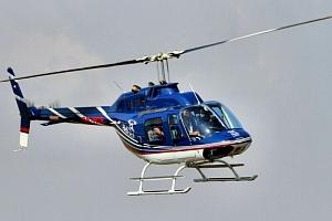 Vyhlídkový let vrtulníkem Bell 206...