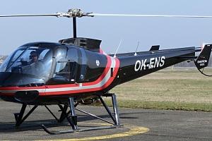 Vyhlídkový let proudovým vrtulníkem Enstrom...