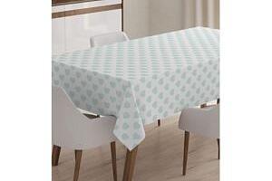 Ubrus Minimalist Tablecloths Soft Green Hearts 120x140 cm...