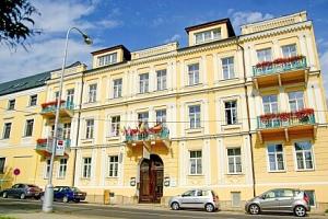 Františkovy Lázně: Hotel Sevilla *** s pivní koupelí, anebo 4 procedurami + neomezené wellness a…...