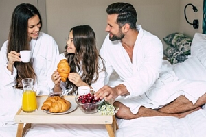 Praha: Rodinný pobyt v apartmánu v Hotelu Olšanka **** s neomezeným wellness + až 2 děti do 10 let…...