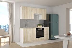 Malá kuchyňská linka 180 cm FURY Bez pracovní desky...
