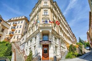 Karlovy Vary: Léčba po covidu na 8 dní ve Spa Hotelu Schlosspark **** s polopenzí a bazénem + 15…...