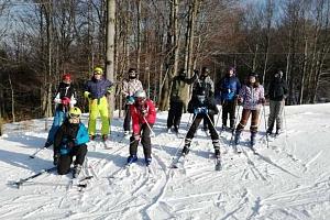 Lyžarský kurz včetně skipasu v Krušných horách...