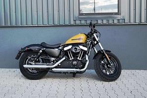 Showcars - Zapůjčení motocyklu Harley Davidson Forty-Eight až na 8 hodin...