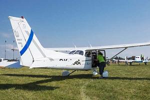 Vyhlídkový let v letounu Cessna 152 nebo Cessna 172 z letiště v Hradci Králové...