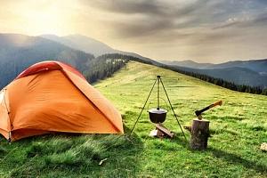 Outdoorový zážitek, přespání ve stanu v Krkonoších pro dva až do listopadu 2021...