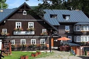 Dovolená v Penzionu Rusalka v Krkonoších s polopenzí a saunou...