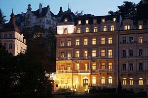 Karlovy Vary ve 4* luxusu s polopenzí, wellness i procedurami...