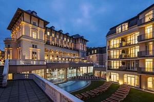Neomezený wellness s polopenzí v luxusním Falkensteiner Spa Resort Mariánské Láznĕ 5*...