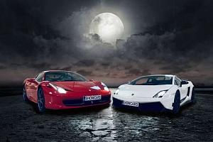 Showcars - adrenalinová večerní jízda v nabušených supersportech...