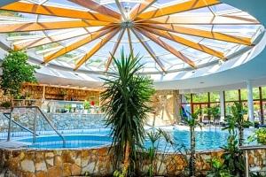 Lázeňské Dudince: Léčebný pobyt v Hotelu Flóra s neomezenými bazény, až 4 procedurami + plná penze...