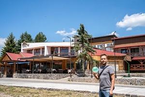 Nízké Tatry: Horský Hotel Šachtička *** s wellness (bazén a saunový svět), polopenzí a sportovním…...