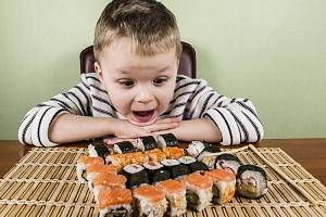 Kurz vaření pro děti: Příprava sushi...