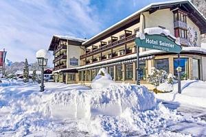 Bavorské Alpy: Zimní dovolená u ski areálů v Alpensporthotelu Seimler *** s wellness a polopenzí +…...