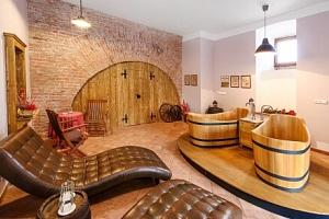 Lázně v pivovaru Poděbrady: Vířivá pivní koupel s konzumací piva a ubytování v Hotelu Soudek *** +…...