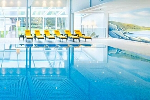 Bad Gastein: CESTA GRAND Aktivhotel & Spa ****+ s termálním wellness (1 800 m²), polopenzí a…...