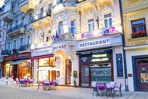 Karlovy Vary přímo v centru v Hotelu Palacký **** se vstupem do Alžbětiných lázní, polopenzí a…...