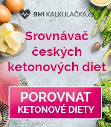Srovnávač českých ketonových diet BMI kalkulačka.cz